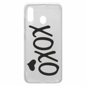 Phone case for Samsung A20 Xo-Xo