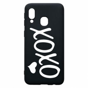 Phone case for Samsung A40 Xo-Xo