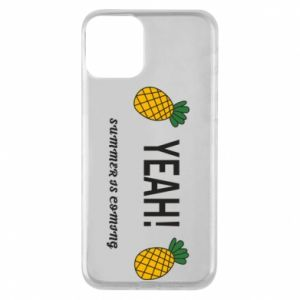 Etui na iPhone 11 Yeah summer is coming pineapple
