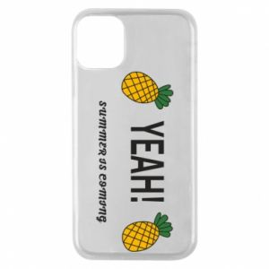 Etui na iPhone 11 Pro Yeah summer is coming pineapple