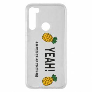 Etui na Xiaomi Redmi Note 8 Yeah summer is coming pineapple