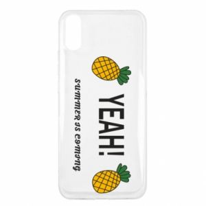 Etui na Xiaomi Redmi 9a Yeah summer is coming pineapple