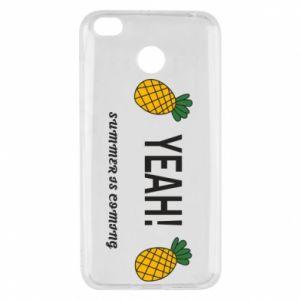 Etui na Xiaomi Redmi 4X Yeah summer is coming pineapple