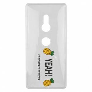 Etui na Sony Xperia XZ2 Yeah summer is coming pineapple