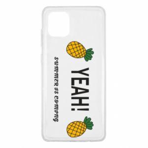 Etui na Samsung Note 10 Lite Yeah summer is coming pineapple