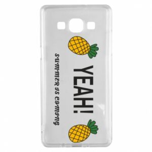 Etui na Samsung A5 2015 Yeah summer is coming pineapple