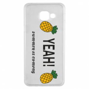 Etui na Samsung A3 2016 Yeah summer is coming pineapple