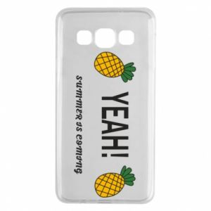 Etui na Samsung A3 2015 Yeah summer is coming pineapple