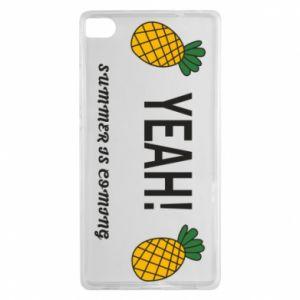 Etui na Huawei P8 Yeah summer is coming pineapple