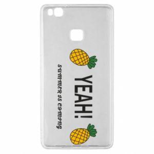 Etui na Huawei P9 Lite Yeah summer is coming pineapple