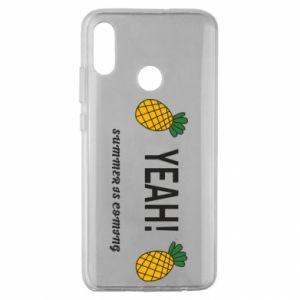 Etui na Huawei Honor 10 Lite Yeah summer is coming pineapple