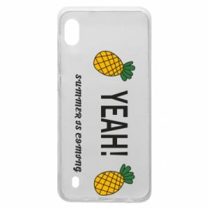 Etui na Samsung A10 Yeah summer is coming pineapple