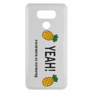 Etui na LG G6 Yeah summer is coming pineapple