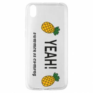 Etui na Huawei Y5 2019 Yeah summer is coming pineapple