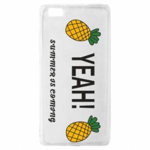 Etui na Huawei P 8 Lite Yeah summer is coming pineapple