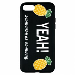 Etui na iPhone SE 2020 Yeah summer is coming pineapple