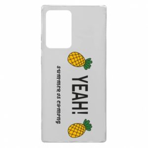 Etui na Samsung Note 20 Ultra Yeah summer is coming pineapple