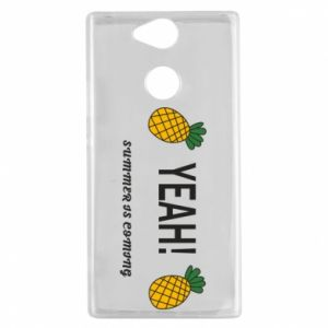 Etui na Sony Xperia XA2 Yeah summer is coming pineapple