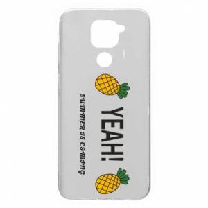 Etui na Xiaomi Redmi Note 9/Redmi 10X Yeah summer is coming pineapple