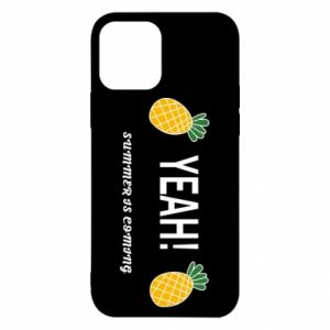 Etui na iPhone 12/12 Pro Yeah summer is coming pineapple