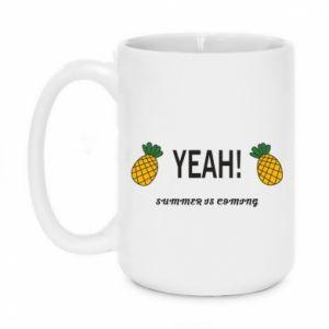 Kubek 450ml Yeah summer is coming pineapple