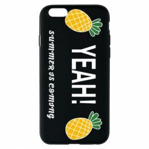 Etui na iPhone 6/6S Yeah summer is coming pineapple