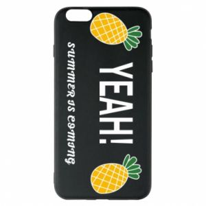 Etui na iPhone 6 Plus/6S Plus Yeah summer is coming pineapple