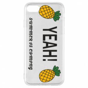 Etui na iPhone 7 Yeah summer is coming pineapple