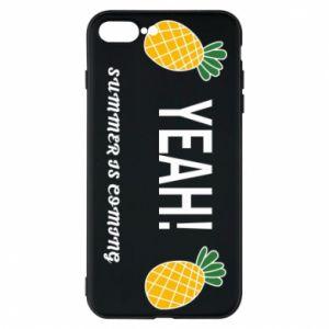 Etui na iPhone 7 Plus Yeah summer is coming pineapple