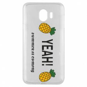 Etui na Samsung J4 Yeah summer is coming pineapple