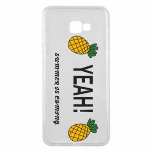 Etui na Samsung J4 Plus 2018 Yeah summer is coming pineapple