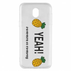 Etui na Samsung J5 2017 Yeah summer is coming pineapple