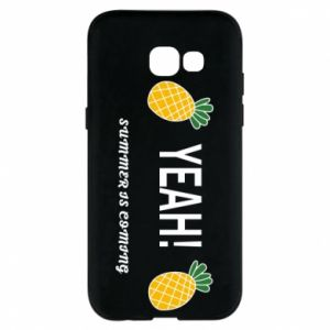 Etui na Samsung A5 2017 Yeah summer is coming pineapple