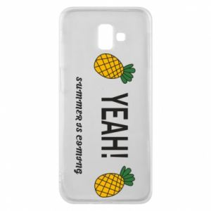 Etui na Samsung J6 Plus 2018 Yeah summer is coming pineapple