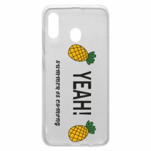 Etui na Samsung A30 Yeah summer is coming pineapple