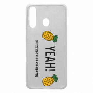 Etui na Samsung A60 Yeah summer is coming pineapple