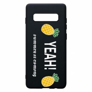 Etui na Samsung S10+ Yeah summer is coming pineapple
