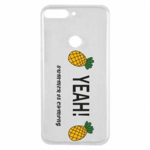 Etui na Huawei Y7 Prime 2018 Yeah summer is coming pineapple