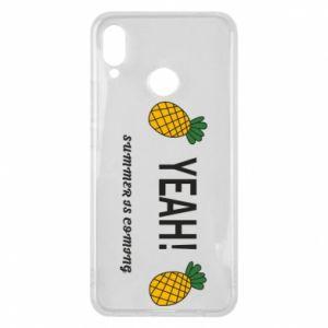 Etui na Huawei P Smart Plus Yeah summer is coming pineapple