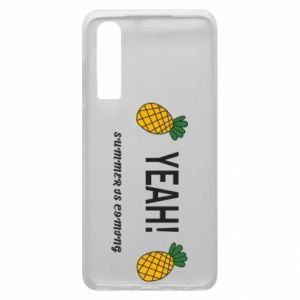 Etui na Huawei P30 Yeah summer is coming pineapple