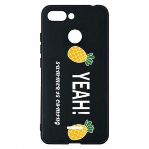 Etui na Xiaomi Redmi 6 Yeah summer is coming pineapple