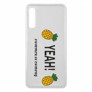 Etui na Samsung A7 2018 Yeah summer is coming pineapple