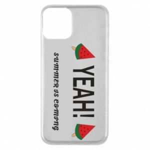 Etui na iPhone 11 Yeah summer is coming whatermelon