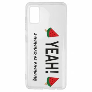 Etui na Samsung A41 Yeah summer is coming whatermelon