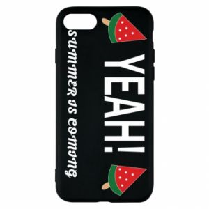 Etui na iPhone SE 2020 Yeah summer is coming whatermelon