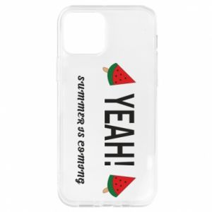 Etui na iPhone 12/12 Pro Yeah summer is coming whatermelon