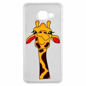 Etui na Samsung A3 2016 Yellow giraffe