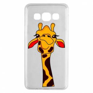 Etui na Samsung A3 2015 Yellow giraffe