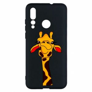 Huawei Nova 4 Case Yellow giraffe