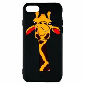 Etui na iPhone SE 2020 Yellow giraffe